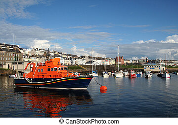 Portrush Lifeboat - Rescue Lifeboat in Portrush harbour...