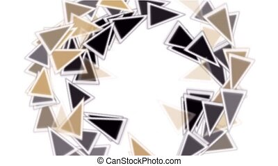 triangles card mosaics shaped rotation round,abstract math...