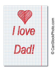 Dad day card