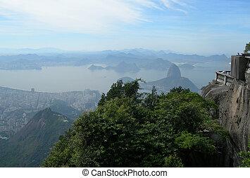 Aerial of Rio de Janeiro