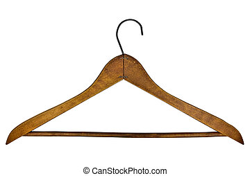 vintage clothes hanger - vintage wooden clothes hanger...