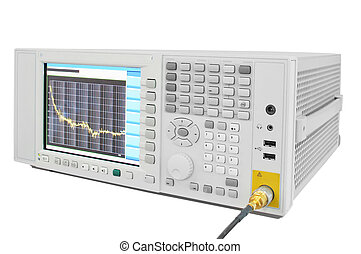 oscilloscope - the image of an oscilloscope