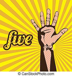 five number