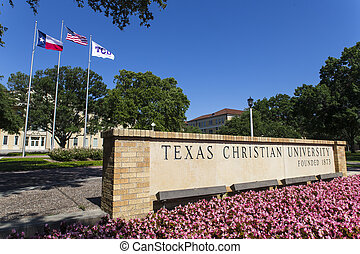 Texas Christian University TCU is a private, coeducational...