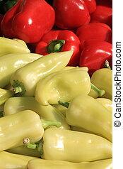 vario, colorido, vegetales