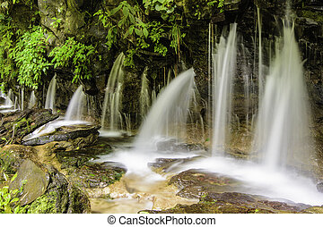 Los Chorros Waterfalls-Costa Rica - .