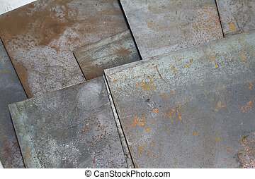 steel sheet have rust on surface for background