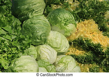 various colourful vegetables