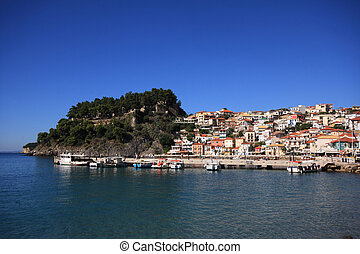 Overview on Parga Greece