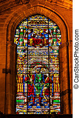 King Ferdinand Stained Glass Cathedral of Saint Mary of the...