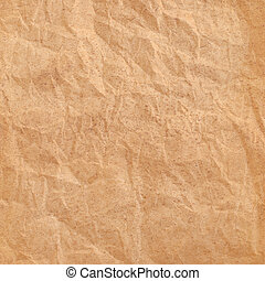 texture of crumpled packaging paper
