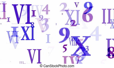 blue number and alphabet matrix in computer monitor,finance...