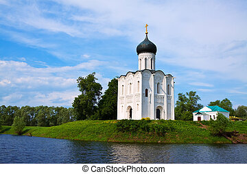 Church of the Intercession on River Nerl was constructed...