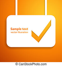 Applique background. Vector illustration for your business presentation.