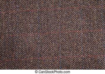Tweed Texture - A macro close up of tweed texture