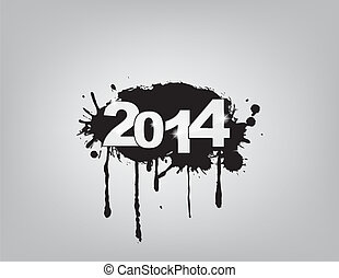 new year 2014 celebration with an underground concept