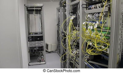 datacenter with high speed communication techmology and...