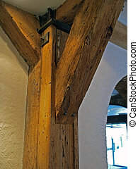 Wood timber beam