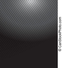metal pattern illustration over a black background
