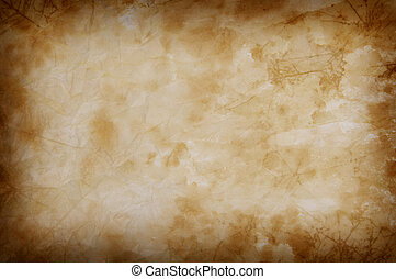 old stained background - old stained paper background for...