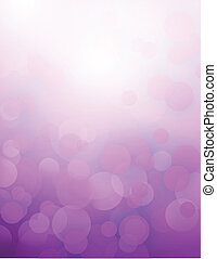 purple bokeh abstract light background illustration design