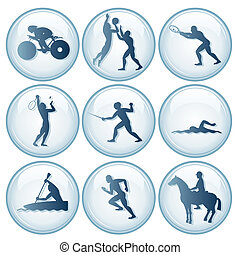 Olympic Sport Icons Set 3