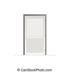 door vector illustration on a white background