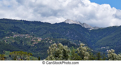 apuan alps - beautiful photo of apuan alps in tuscany ,...