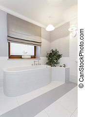 Tuscany - comfortable bath - Tuscany - stylish white bath in...