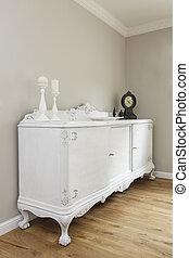 Tuscany - classic commode - Tuscany - closeup of white...