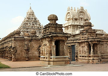 Temple of God Vishnu in Kanchipuram India