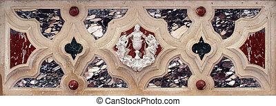 autel,  jésus,  détail
