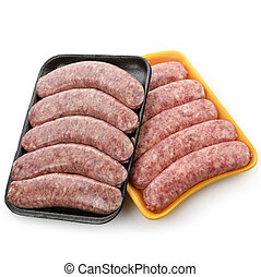 Raw Bratwurst - Raw Polish And Cheese Sausages