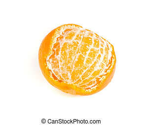 tangerine - Orange tangerine on white ground
