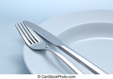 Diner cutlery background