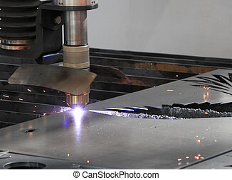 Laser metal cutting - Cutting metal sheet with a laser...