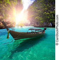 Railay beach in Krabi Thailand