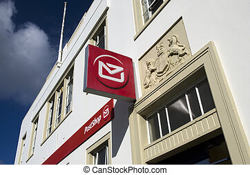 New Zealand Post Office - KAITAIA, NZ - JUNE 21:Kaitaia Post...