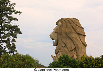 Merlion - Isle Sentosa, Singapore