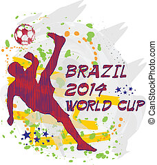 brazil 2014 world cup - football player of brazil worldcup...