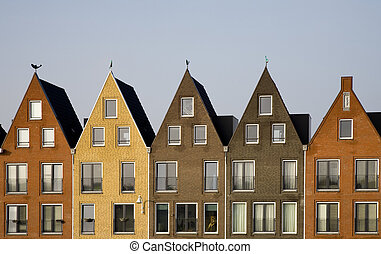 Housing development - New houses in traditional style in...