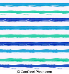 Striped pattern inspired by navy uniform in shades of aqua...