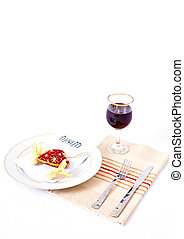 Romantic Meal Setting