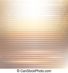 gold abstract background with stripes and lights