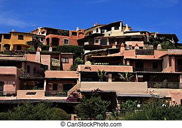 Porto Cervo. Sardinia.  Italy