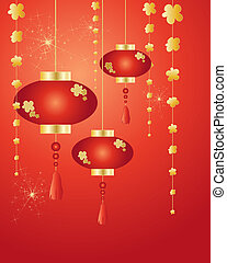 chinese new year - an illustration of chinese new year...