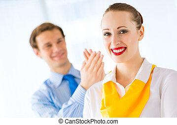 exitoso, empresa / negocio, mujer