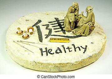acupuntura, agujas, Moxa, conos