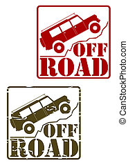 Off road stamp set