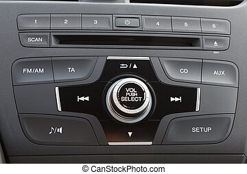Car audio system panel - Car audio system front panel
